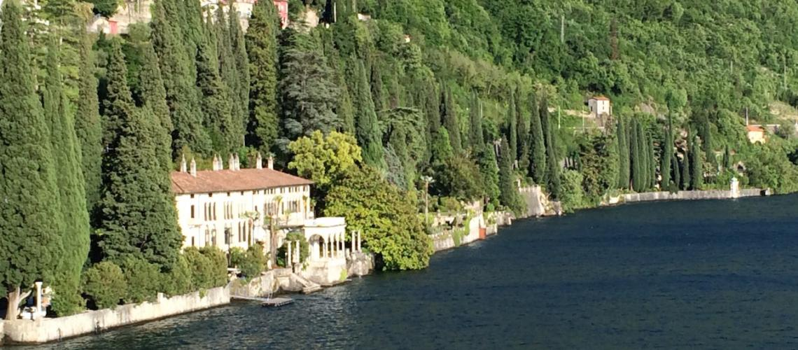 купить дом на озере комо италия